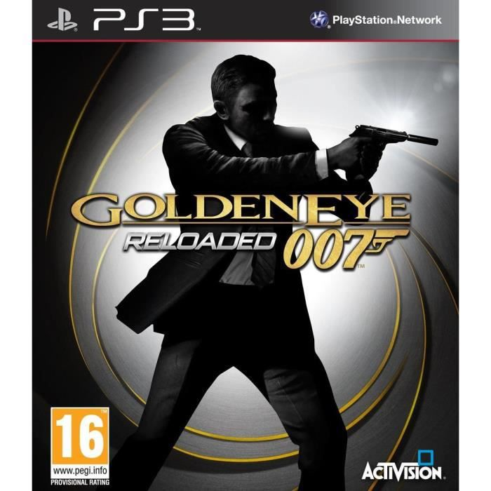 JEU PS3 GOLDEN EYE RELOADED / Jeu console PS3