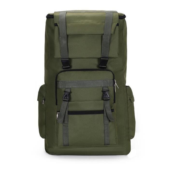 Grand sac à dos militaire 120l pour hommes, étanche, tactique, extérieur, assaut, bagages, Sport, Trekking, Camping, [AF04374]