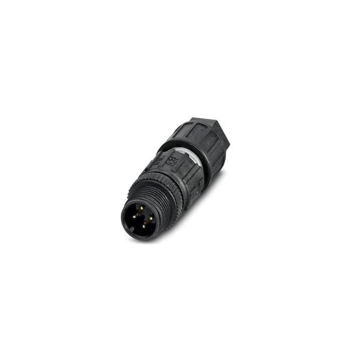 Connecteur capteur/actionneur Conditionnement: 1 pc(s) Phoenix Contact SACC-M12MS-4QO-0,34 1641714