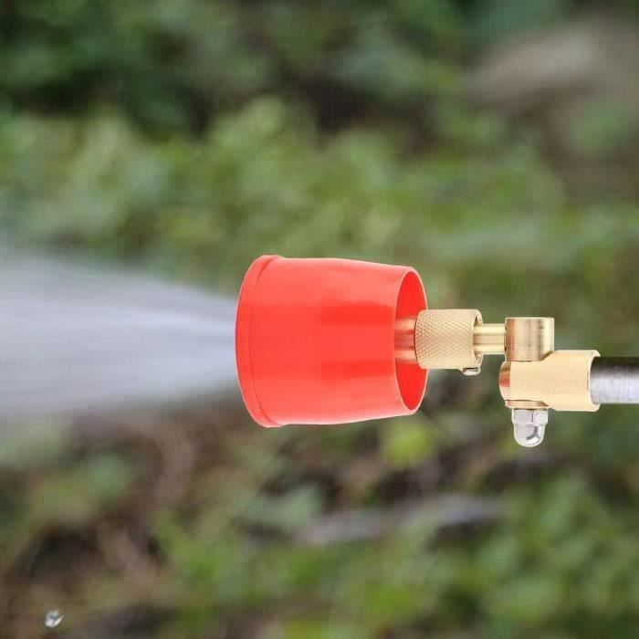 Programmateur d 'arrosage Agriculture Sprays Irrigation Haute Pression Coupe-Vent Agriculture Pulvérisateur Serre Arbres Fruitiers