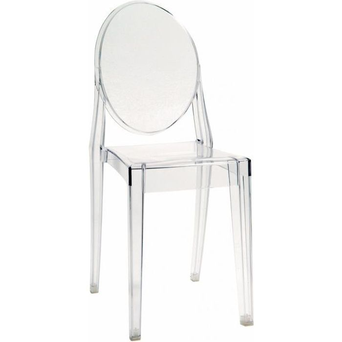 Chaise design inspiration Victoria Ghost Transparente