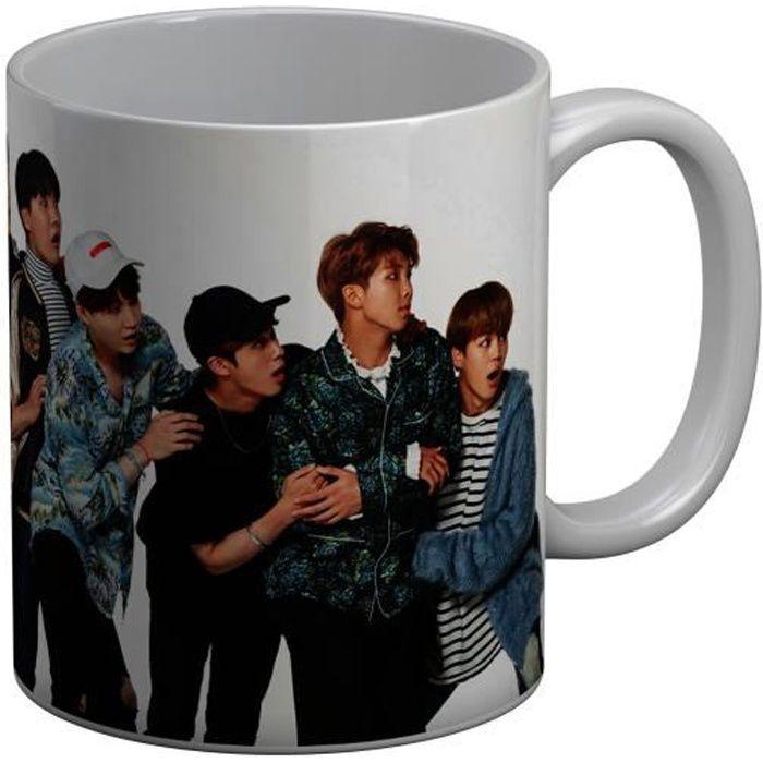 Mug Céramique BTS Jeon Jungkook Jimin Kpop Stars Coree