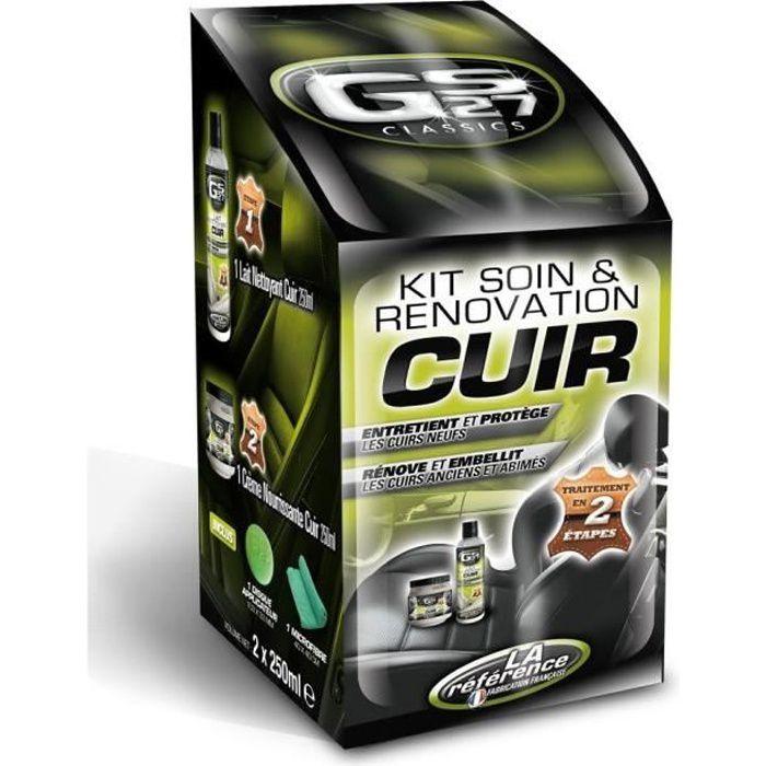 GS27 Kit Soin et Renovation Cuir - 500 ml