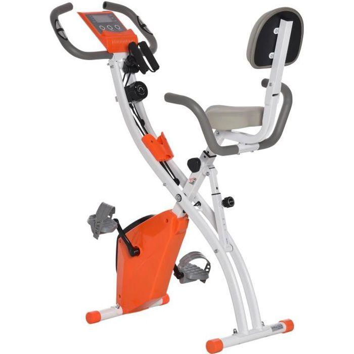 Vélo d'appartement cardio Fit 97x51x115cm Orange