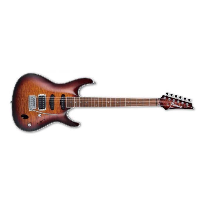 Ibanez SA460QM-ABB - Antique brown burst - guitare électrique