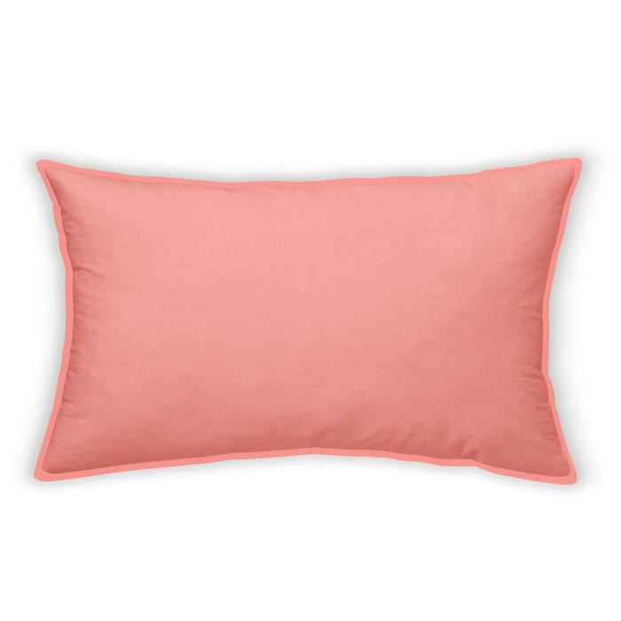 TODAY Coussin dossier Oxford pour palette - 70x45 cm - Orange corail