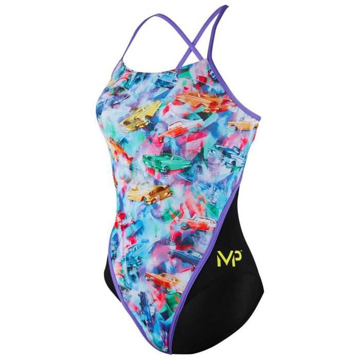 MAILLOTS DE BAIN femme Maillots de bain Michael Phelps Vintage Racing Back