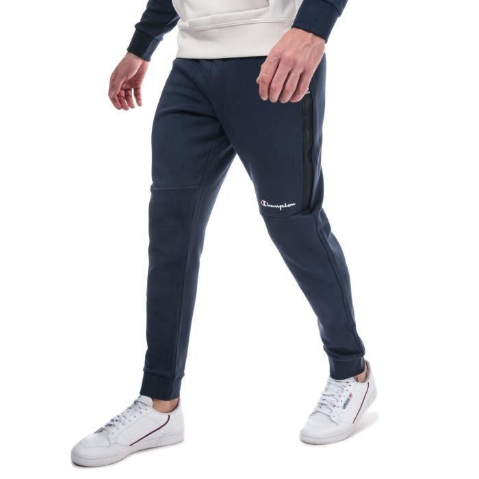 Pantalon De Jogging Champion Small Logo Pour Homme En Bleu Marine.