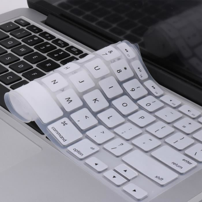 WE Clavier de protection blanc pour Macbook (Pro 13 / 15 /17)