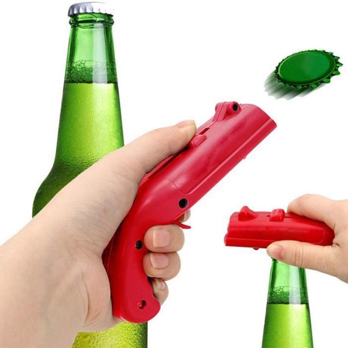 Décapsuleur Ouvre-canette d'éjection de bouchon de catapulte pour bière, Ouverture de boisson