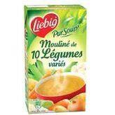 Soupe moulinée 10 légumes 1l Liebig