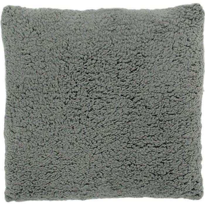 Coussin extra doux gris 40x40cm CALINE Gris