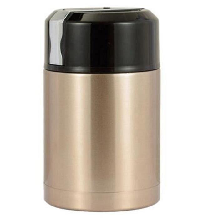 Acier Inoxydable thermobehälter 1,5 L œ Récipient Pour Aliments dorés