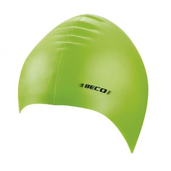BONNET PISCINE- CAGOULE Beco bonnet de bain unisexe silicone vert citron v