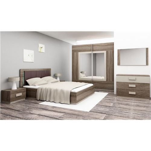 Chambre coucher compl te gima achat vente lit for Chambres a coucher adultes completes