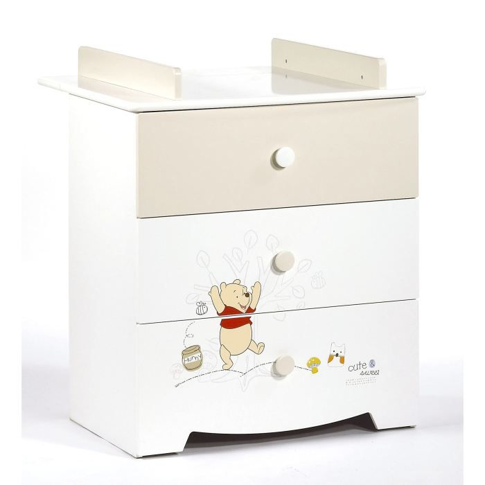 winnie commode doodle craft avec plan langer achat vente commode b b 3500760045978. Black Bedroom Furniture Sets. Home Design Ideas
