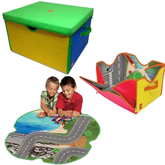 tapis de jeu boite de rangement lego zipbin 7 achat. Black Bedroom Furniture Sets. Home Design Ideas