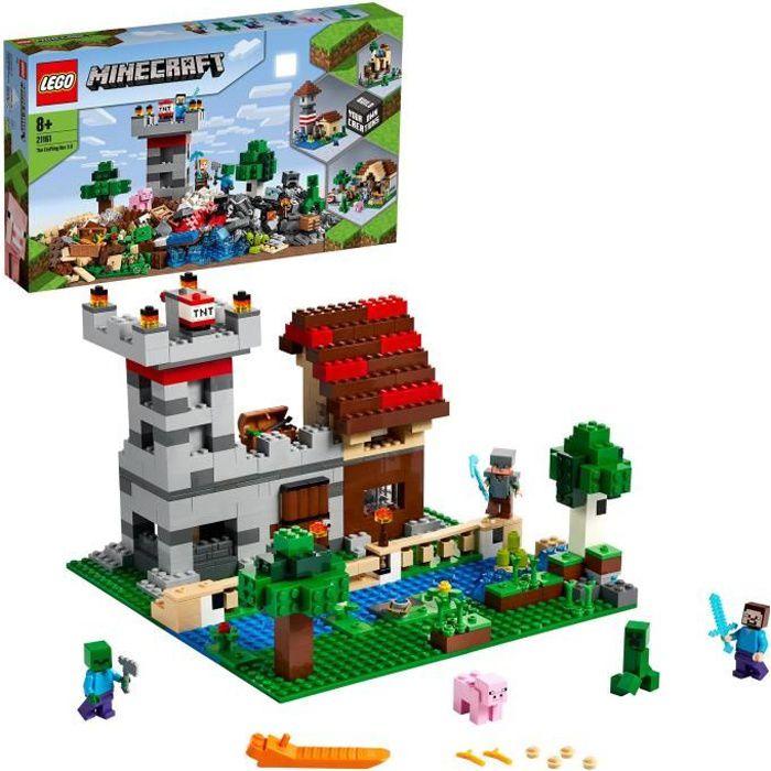 Mattel fxt80 Minecraft Store STORE-BOX avec Mini-Personnages