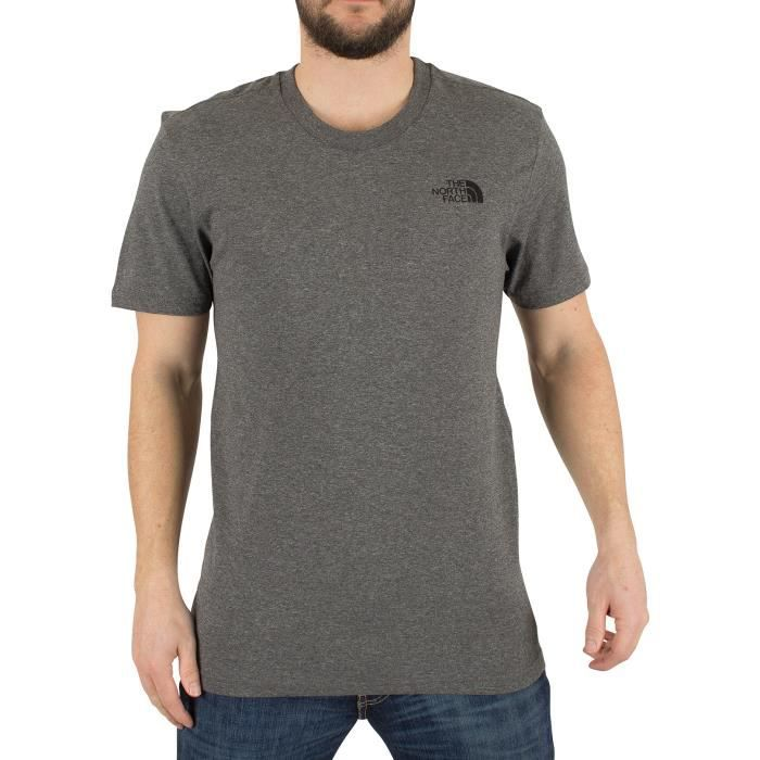 T-SHIRT The North Face Homme T-shirt Simple Dome Marled Lo