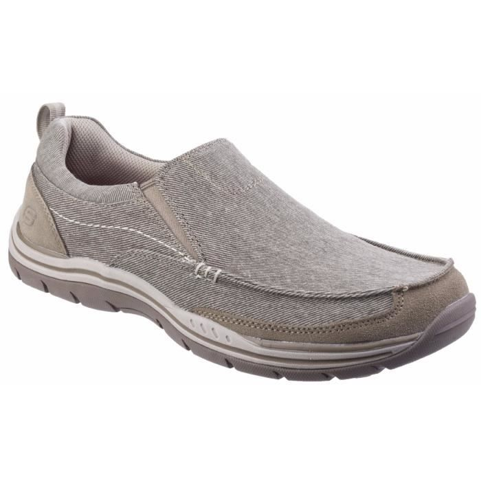 Skechers Expected Baskets Tomen enfiler à Homme qAzq1C