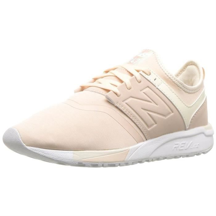Baskets mode wrl247 femme new balance 640241 Rose Rose - Achat ... 80569b993944