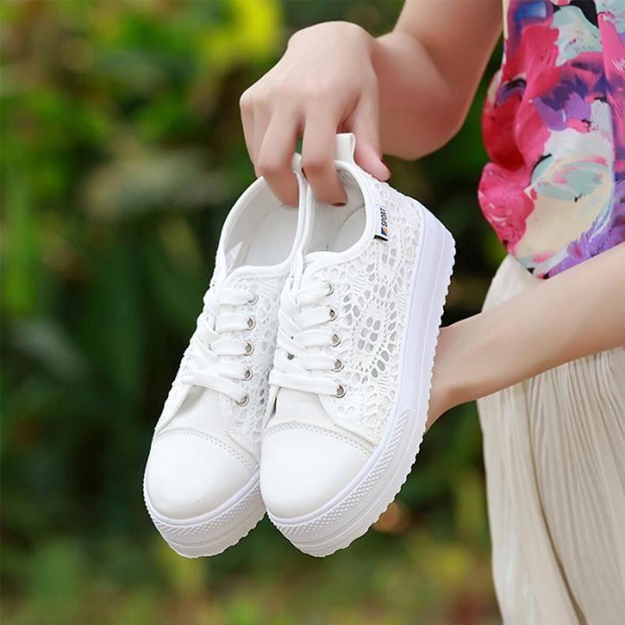 chaussure adidas femme toile dentelle