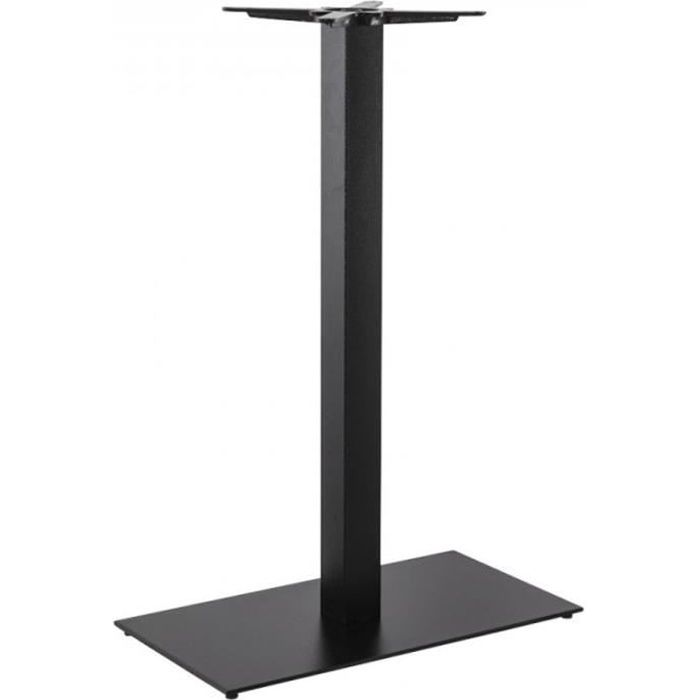 Pied De Table 110 Cm.Paris Prix Pied De Table Xl Metal 110 Cm Noir