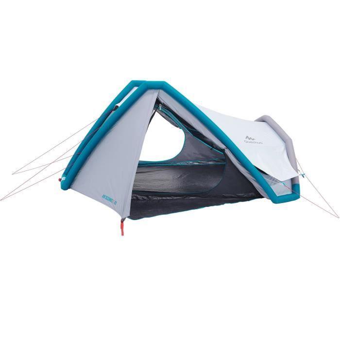 Tente De Camping Air Seconds Fresh Black Xl 3 Personnes Quechua By Decathlon Achat Vente Tente De Camping Prolongation Soldes Cdiscount
