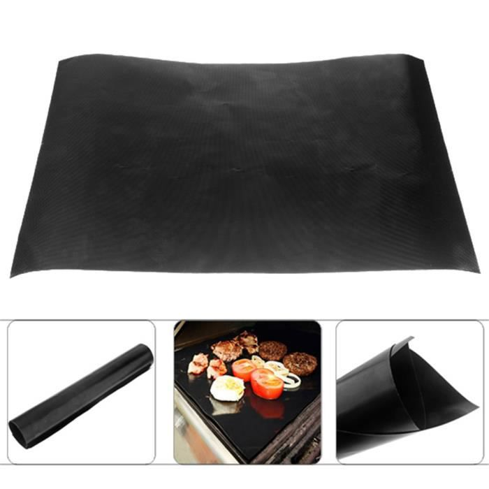 teflon barbecue grill mat pour barbecue four ext rieur accessoires achat vente feuille de. Black Bedroom Furniture Sets. Home Design Ideas