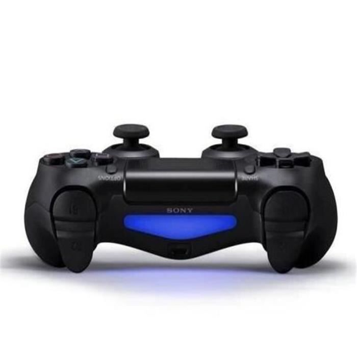 manette de jeu dualshock 4 noir ps4 univers playstation gamingpascher. Black Bedroom Furniture Sets. Home Design Ideas