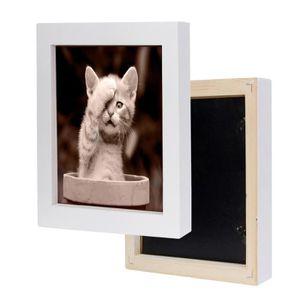 Deknudt Frames S43XF3 Cadre Photo Bois Brut Beige 13 x 13 cm