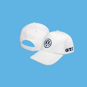 CASQUETTE VW Volkswagen GTI CARBONE Casquette de Baseball Bl