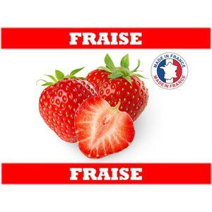 LIQUIDE e-liquide français  10 ml saveur fraise 0mg