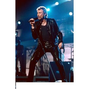 AFFICHE - POSTER POSTER JOHNNY HALLIDAY 61 x 75 CM