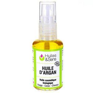 HUILE - LAIT MASSAGE Huile d'Argan bio 30 ml