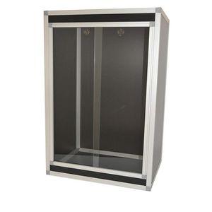 VIVARIUM - TERRARIUM hpterra Terrarium Kit PVC-Aluminium pour Reptile-A