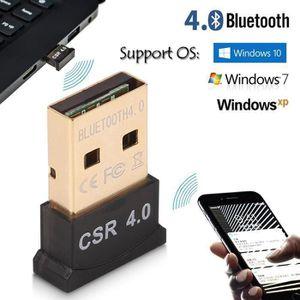 ADAPTATEUR BLUETOOTH Bluetooth 4.0 USB Dongle Adaptateur CSR 4.0 Pour W