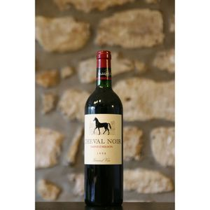 VIN ROUGE Chateau Cheval noir 1998 Simple