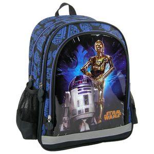 SAC À DOS Star Wars Sac à dos à roulettes scolaire école enf