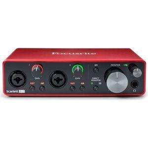 INTERFACE AUDIO - MIDI FOCUSRITE - SCARLETT3-2I2 - Interface audio - USB