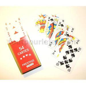 CARTES DE JEU Jeux de 54 cartes