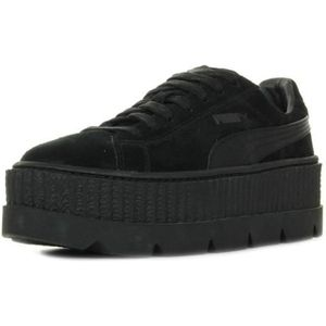 puma fenty cleated creepers noir