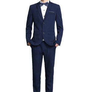 COSTUME - TAILLEUR (Veste+Pantalon+Gilet)Costume Homme Marque Luxe Ve