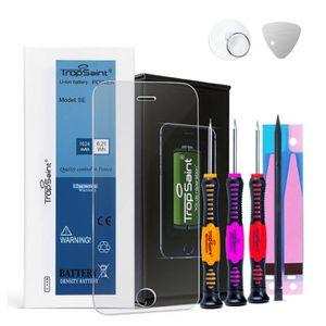 Batterie téléphone Trop Saint® Batterie Interne pour iPhone Se - 1624