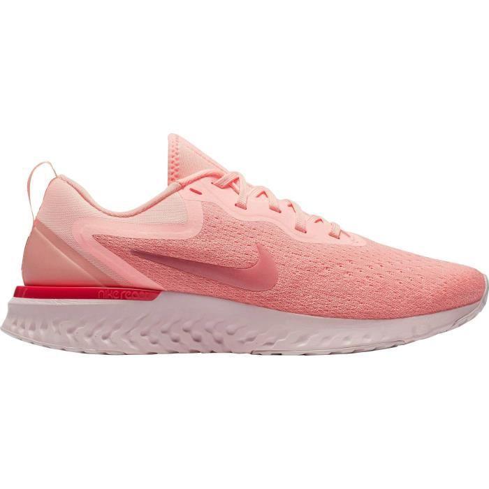 NIKE Baskets de running Odyssey React - Femme - Rose