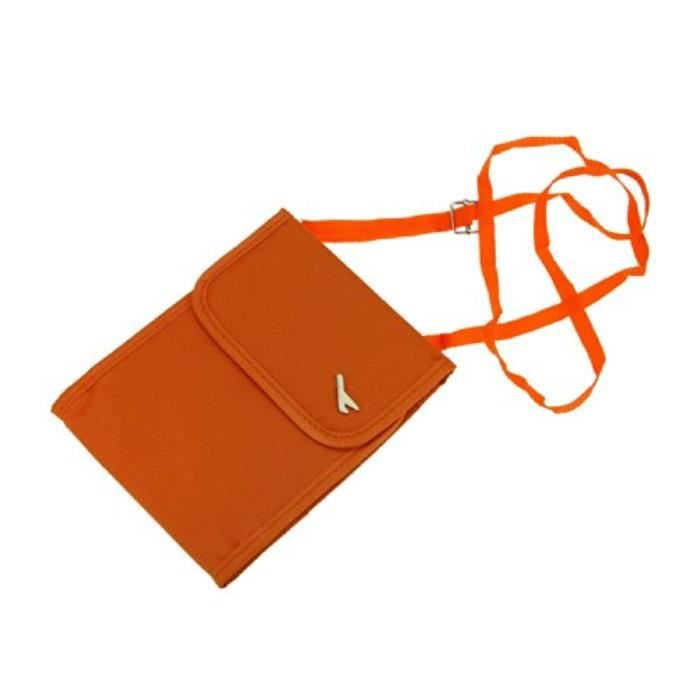 Bracelet De Montre Vendu Seul WX5HW imperméable multifonctionnel voyage comapct cou pochette portefeuille sac de sécurité en espèces