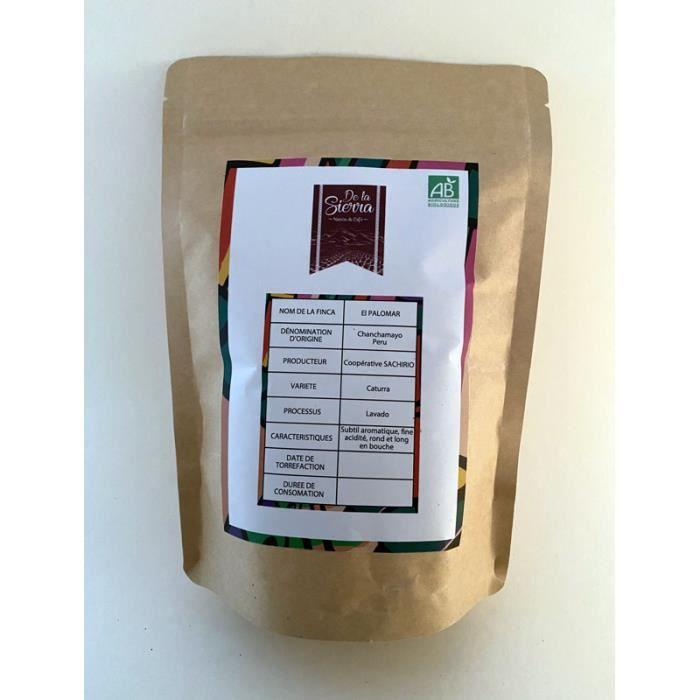 Café Caturra Bio - 100 % Arabica