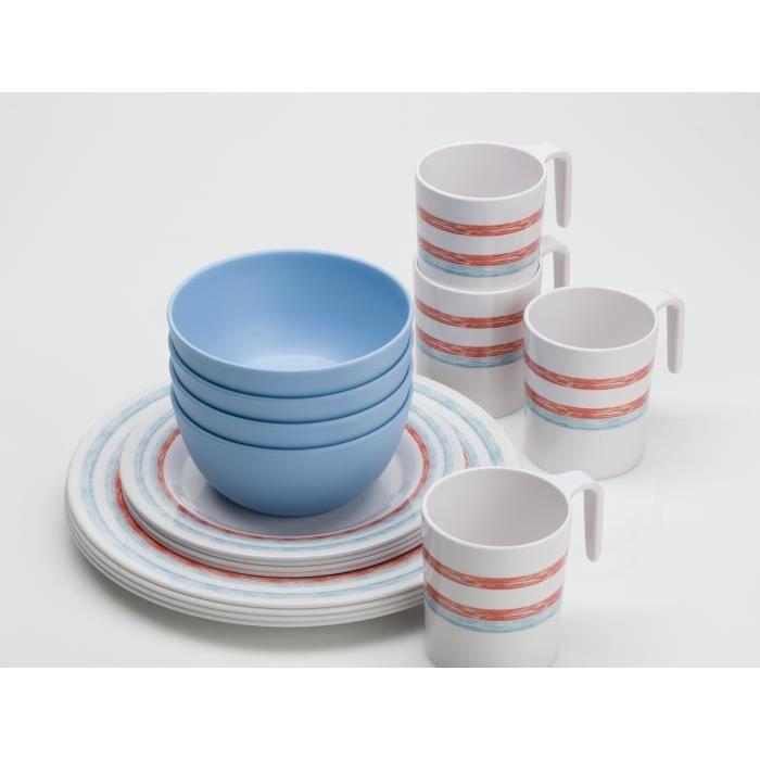 Pack vaisselle just stripes x16