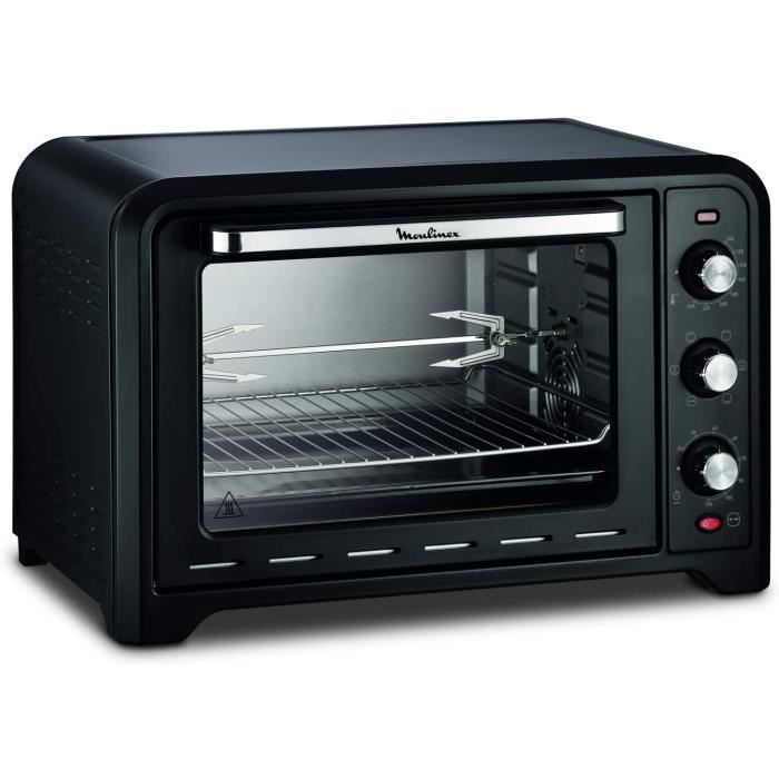 FOUR Moulinex OX485810 Four &eacutelectrique Optimo 39 L Cuisson chaleur tournante, traditionnelle, gril, p&acirctisserie, bain1
