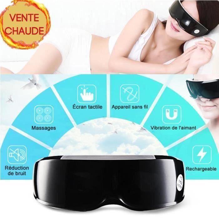 Masseur oculaire électrique vibration magnétique Haute Fréquence Confort Massage Confort Anti-Âge P14085
